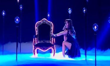 Δέσποινα Βανδή: Με σέξι εμφάνιση ερμήνευσε το νέο της τραγούδι στο 4ο live του «The Voice»