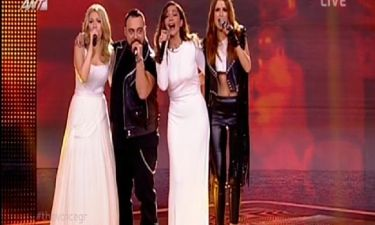 «The Voice»: Η εντυπωσιακή εμφάνιση της Δέσποινας Βανδή με την ομάδα της