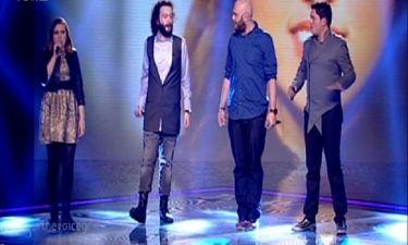 Μιχάλης Κουινέλης: Με την ομάδα του τραγούδησε στη σκηνή του «The Voice»