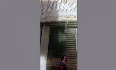 Τα δάκρυα του Γιάννη Παπαμιχαήλ για τις ζημιές στο «Αλίκη»