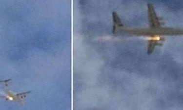 Βίντεο: Τρόμος στον αέρα - Έπιασε φωτιά ο κινητήρας αεροπλάνου