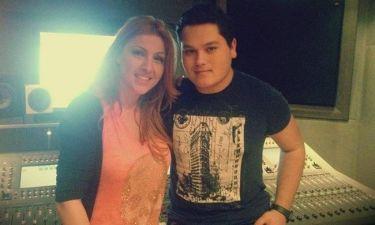 The Voice: Οι πρόβες της Έλενας Παπαρίζου με τον Γιούρι