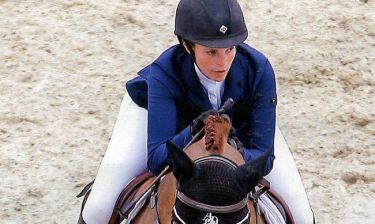 Αθηνά Ωνάση: Σε αγώνες ιππασίας με τον σύζυγο της!