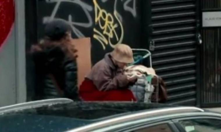 Θα αναγνωρίζατε την αδερφή σας αν ήταν άστεγη; Ετοιμαστείτε για... πολύ κλάμα (video)
