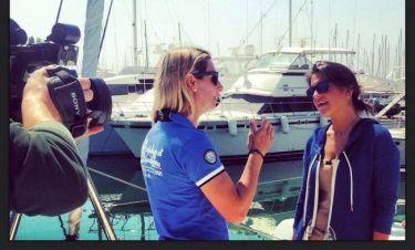 Η Oλυμπιονίκης στην ιστιοπλοΐα, Σοφία Μπεκατώρου «Στην Πράξη»