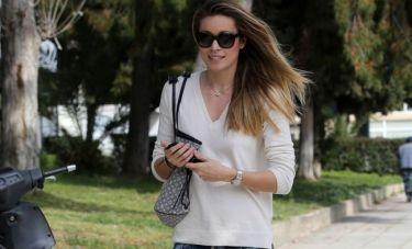 Μαριέττα Χρουσαλά: «Στην εγκυμοσύνη πρόσεχα, χωρίς να στερούμαι»