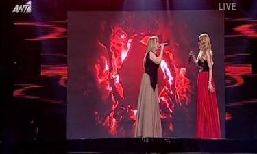 «The Voice»: Η Μαντώ στην σκηνή του ημιτελικού με την Μαρία Έλενα Κυριάκου!