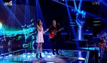 «The Voice»: Ακούστε την Αίμιλη Χαραλάμπους να τραγουδά με τον Κώστα Μακεδόνα!