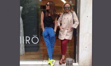 Δέσποινα Βανδή: Για ψώνια με την στυλίστριά της, Αλεξάνδρα Κατσαΐτη