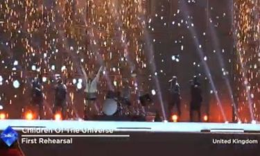 Eurovision 2014: Ηνωμένο Βασίλειο: Με ντραμς και πύρινη βροχή επί σκηνής!