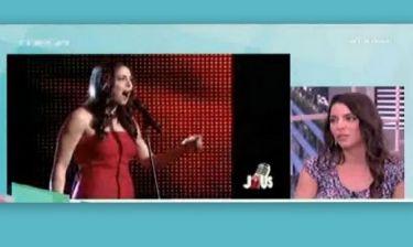 Η Μυριέλλα Κουρεντή μιλά για το J2US - Eίναι επαγγελματίας τραγουδίστρια;