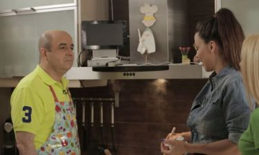 «Μ.Α.Μ»: Η Ναταλία Δραγούμη μαγειρεύει παρέα με τον Μάρκο Σεφερλή μακαρόνια με κιμά!