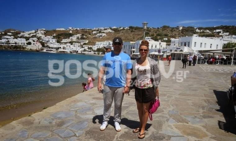 Λεωνίδας Κόκκας: Ο άλλοτε Ολυμπιονίκης της Άρσης Βαρών ερωτευμένος στη Μύκονο