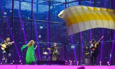 Eurovision 2014: Γεωργία: Με αλεξιπτωτιστή πάνω στην σκηνή!
