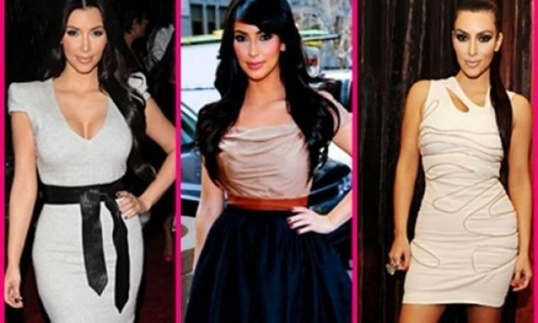 Έχεις καμπύλες; Η Kim Kardashian μοιράζεται τα tips της για άψογες εμφανίσεις