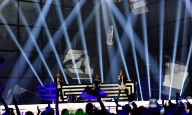 Eurovision 2014: Ελλάδα: Όλο το στάδιο όρθιο με το «Rise up»