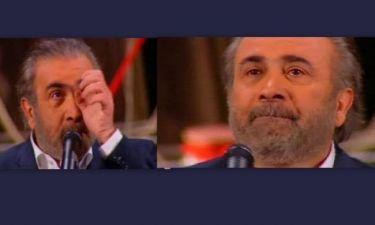 Η συγκίνηση του Λάκη Λαζόπουλου on air!