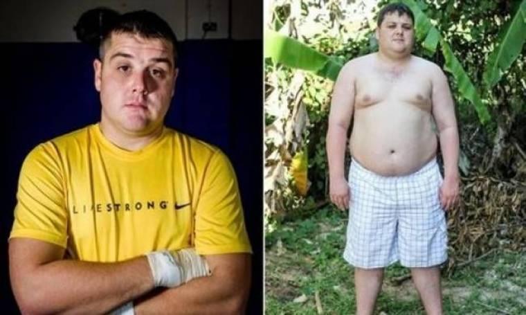Έγινε αγνώριστος: Έχασε τόσα κιλά που δεν πίστευαν ότι ήταν ο ίδιος