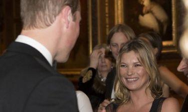 Το φλερτ της Kate Moss στον πρίγκιπα William