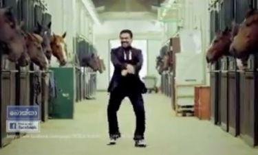 Εκλογές 2014: Τον έκαναν πρωταγωνιστή του Gangnam Style