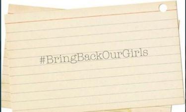 Μαρί Σαντάλ και Jessica Hart εκφράζουν την αγανάκτησή τους για την απαγωγή των κοριτσιών από τη Νιγηρία!