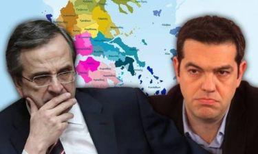 """Εκλογές 2014: Δημοτικά και περιφερειακά """"ναρκοπέδια"""" για ΝΔ και ΣΥΡΙΖΑ"""