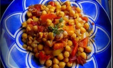 Συνταγή για ...«ανοιξιάτικα» ρεβίθια!