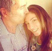 Το ωραιότερο φιλί για την Αθηνά Οικονομάκου
