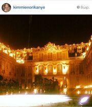 Kim Kardashian-Kanye West: Η πρόβα τζενεράλε και η δεξίωση στο παλάτι των Βερσαλιών λίγο πριν τον γάμο (φωτό)