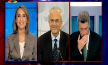 Νίκος Χατζηνικολάου: Πνίγηκε από τον βήχα την ώρα του δελτίου ειδήσεων