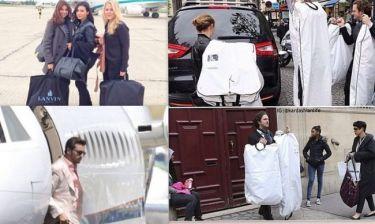 Γάμος Kardashian- West: Καταφθάνουν οι καλεσμένοι ενώ η νύφη δεν διάλεξε ακόμα το νυφικό της