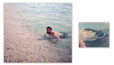Ηλίας Βρεττός: Το ατύχημα στο πρώτο μπάνιο. Tον δείχνει και το χαίρεται! (Nassos blog)