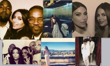 Ο γάμος Kardashian-West όπως τον παρουσίασαν στα social media (photos)