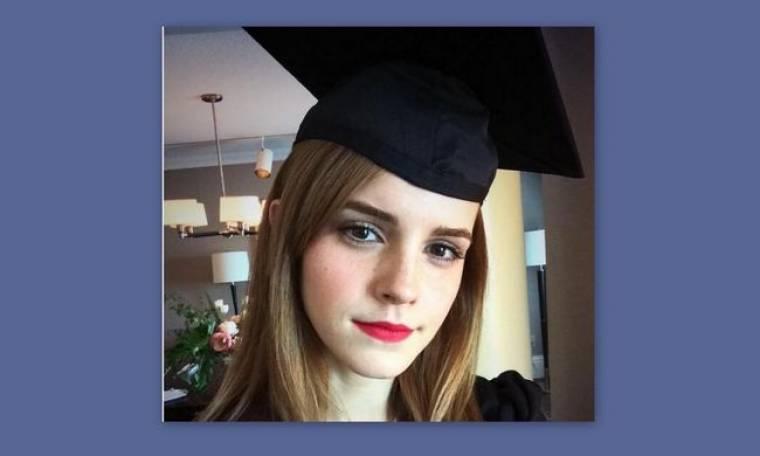 Έμα Γουάτσον: Πήρε το πτυχίο της στην Αγγλική Φιλολογία!