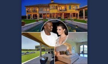 Μέσα στο υπερπολυτελές σπίτι της Kim και του Kanye: Εδώ θα ζήσουν τον έγγαμο βίο τους!