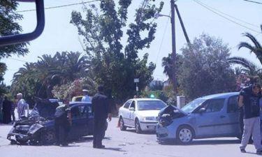 Σοβαρό τροχαίο στο Ναύπλιο: Δέκα τραυματίες, ανάμεσα τους και παιδιά