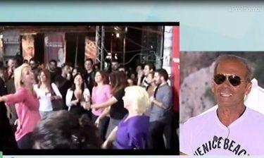 Πώς ο Κωστόπουλος σχολίασε τον χορό της Δούρου