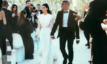 Οι πρώτες φωτογραφίες των νεόνυμφων Kardashian-West (photos)