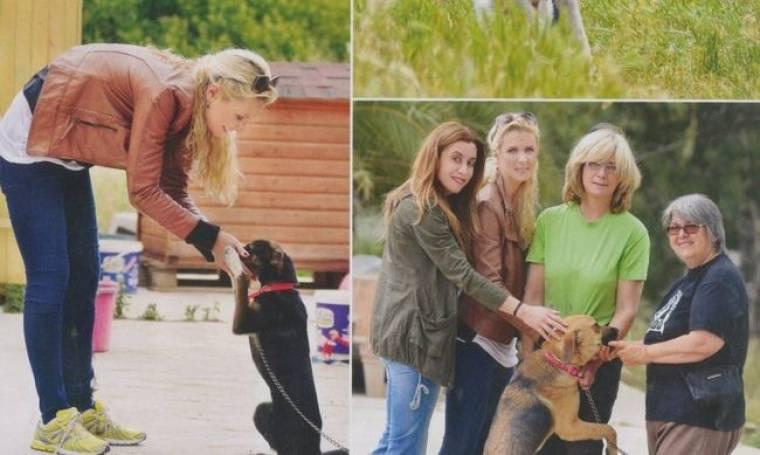 Κατερίνα Γκαγκάκη: Αγαπάει τα ζώα και το δείχνει