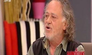 Ο Νίκος Καλογερόπουλος αποκαλύπτει πως έχει αφοριστεί δυο φορές