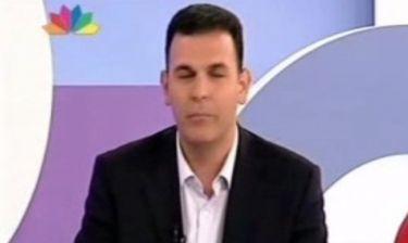 Γιώργος Καραμέρος: «Όχι, η σύζυγός μου δεν με δέρνει»