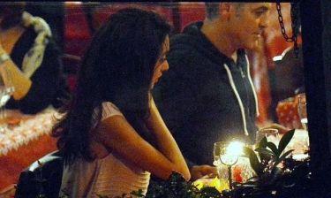 George Clooney: Ρομαντικό δείπνο στη Βενετία με την αρραβωνιαστικιά του! (φωτό)