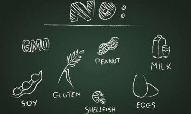 Μάθετε ποιες είναι οι 5 πιο συνηθισμένες διατροφικές αλλεργίες και πώς να προφυλαχθείτε από αυτές e