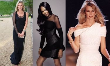 Moss, Schiffer και Campbell η τριάδα των πλουσιότερων μοντέλων στη Βρετανία!