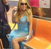 Και η Mariah Carrey χρησιμοποιεί το μετρό