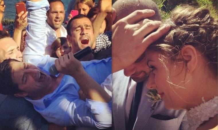 Σάκης Ρουβάς: Φωτογραφίες από το γάμο στενού του συνεργάτη!