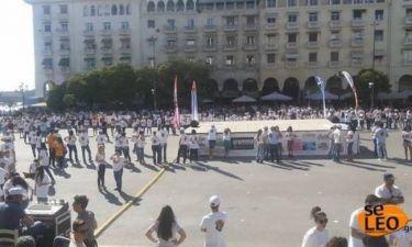Θεσσαλονίκη: 1000 χορευτές ετοιμάζονται για να σπάσουν το ρεκόρ γκίνες