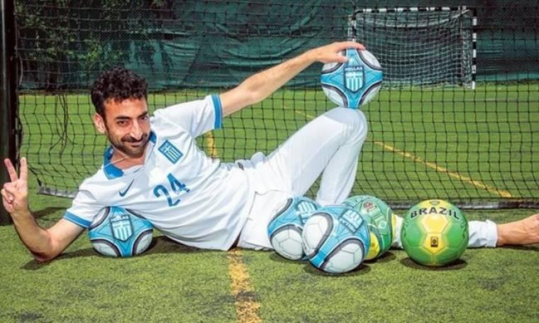 Μαραγκόπουλος: «Ήμουν ο μόνος σέντερ φορ στα ποδοσφαιρικά χρονικά που φορούσε χοντρά γυαλιά μυωπίας