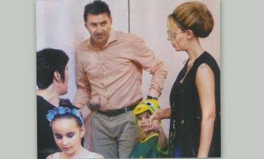 Ζαγοράκης-Λίλη: Στην σχολική γιορτή των παιδιών τους