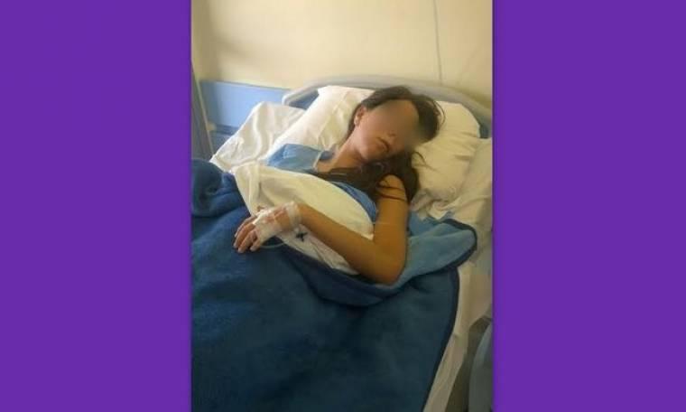 Εικόνες μέσα απο το νοσοκομείο. Ελληνίδα τραγουδίστρια μετά το χειρουργείο (Nassos blog)
